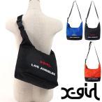 X-girl エックスガール BI COLOR SHOULDER BAG BI カラー ショルダーバッグ  5181022 SS18