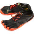 ビブラムファイブフィンガーズ メンズ Vibram FiveFingers ジム フィットネス カジュアル向け 5本指シューズ KSO EVO ベアフット Black/Red 靴  18M0701 SS18