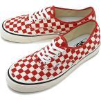 バンズ VANS アナハイムファクトリー オーセンティック44 DX スニーカー 靴 OG RED/CHECK VN0A38ENVL1 SS19