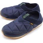 テバ Teva メンズ エンバーモック M EMBER MOC キャンプモック キルティング スリッポン 靴 MDNV ネイビー系 1018226 FW19