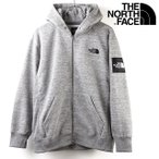 ノースフェイス THE NORTH FACE メンズ スクエアロゴフルジップ Square Logo FullZip NT62038 FW20 TNF トップス Z ミックスグレー グレー系
