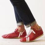 返品送料無料 限定復刻 パトリックスニーカー 日本製 靴 PATRICK SULLY パトリック シュリー RGE レッド系  26257