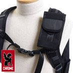 CHROME クローム バッグ スマホポーチ PHONE POUCH スマートフォン ポーチ スマホケース BLACK/BLACK AC-135 FW17