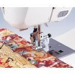 ブラザーミシン家庭用ミシン専用実用縫い押さえ『ガイド付きまつり縫い押え』 F017N(水平釜ジグザグふり幅7mm用)