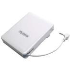 ジャノメミシン/JANOME/フットコントローラー/純正白色・コードリール/コンピュータ用