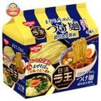 日清食品 日清 ラ王 つけ麺 濃厚魚介醤油 5食パック×6袋入