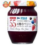 アヲハタ 55 4種のベリー(イチゴ・ブルーベリー・ラズベリー・カシス) 150g瓶×12個入