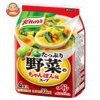 味の素 クノール たっぷり野菜のちゃんぽんスープ 29.6g×10袋入