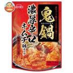 イチビキ ストレート鬼鍋 濃厚辛口キムチ鍋スープ 750g×10袋入