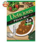 ハチ食品 デリシャスカレー 中辛 (170g×4袋)×12個入