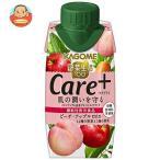 野菜生活100 Care+ ピーチ・アップルmix 195ml×12本 紙パック