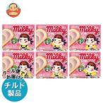 送料無料 【チルド(冷蔵)商品】雪印メグミルク ミルキーソフト いちご味 140g×12個入