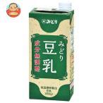 九州乳業 みどり 豆乳 成分無調整 1000ml紙パック×12(6×2)本入