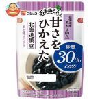 フジッコ おまめさん 甘さをひかえた 北海道黒豆 114g×10袋入