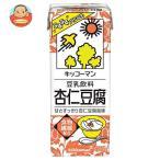 キッコーマン 豆乳飲料 杏仁豆腐 200ml紙パック×18本入