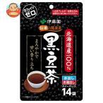 伊藤園 北海道産100% 黒豆茶 ティーバッグ (7.5g×14袋)×10袋入