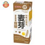 マルサン 豆乳飲料 麦芽豆漿 200ml×24本 紙パック