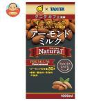 タニタカフェ監修 アーモンドミルク ナチュラル(砂糖不使用) 1000ml×12本 紙パック