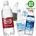【送料無料】いろいろな炭酸水飲んでみませんか?セット 24種類 24本 ウィルキンソン 炭酸水 500ml  ソーダ 強炭酸 割り材