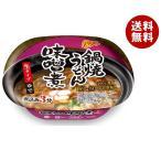 【送料無料】徳島製粉 金ちゃん亭 鍋焼味噌煮うどん 214g×12個入