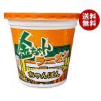 【送料無料】徳島製粉 金ちゃんラーメンカップ ちゃんぽん 76g×12個入