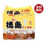 【送料無料】徳島製粉 金ちゃん 徳島らーめん 5食パック×6個入