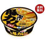 【送料無料】東洋水産 マルちゃん 黒いまめ豚カレーうどん 42g×24(12×2)個入
