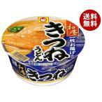 【送料無料】東洋水産 マルちゃん 和庵(なごみあん)きつねうどん(西) 85g×12個入