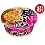 【送料無料】東洋水産 マルちゃん 和庵(なごみあん) 天ぷらそば 88g×12個入