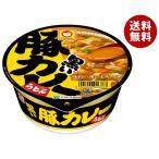 【送料無料】東洋水産 マルちゃん 黒い豚カレーうどん 87g×12個入