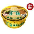 【送料無料】東洋水産 マルちゃん正麺 カップ 濃厚とろ豚骨 107g×12個入