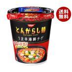 【送料無料】日清食品 日清のとんがらし麺 うま辛海鮮 64g×12個入