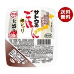 送料無料 【2ケースセット】サトウ食品 サトウのごはん 銀シャリ 大盛り  300g×24(6×4)個入×(2ケース)