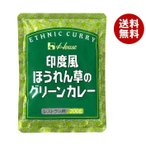 【送料無料・2ケースセット】ハウス食品 印度風ほうれん草のグリーンカレー 200g×30(10×3)個入×(2ケース)