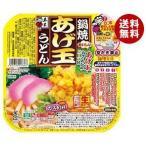 【送料無料】五木食品 鍋焼あげ玉うどん 210g×18個入