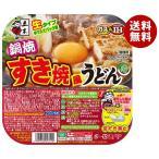 【送料無料】五木食品 鍋焼すき焼風うどん 235g×18個入