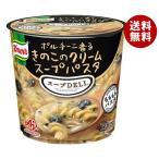 【送料無料】味の素 クノール スープDELI ポルチーニ香る きのこのクリームスープパスタ(容器入り) 40.7g×12(6×2)個入