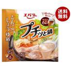 【送料無料】【2ケースセット】エバラ食品 プチッと鍋 とんこつしょうゆ鍋 23g×6袋×12袋入×(2ケース)