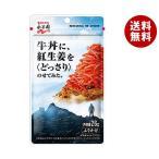 送料無料 【2ケースセット】永谷園 牛丼に、紅生姜をどっさり乗せてみた。 26g×10袋入×(2ケース)