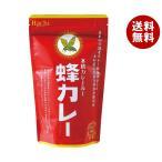【送料無料】【2ケースセット】ハチ食品 蜂カレー カレールー中辛 180g×12個入×(2ケース)