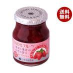 送料無料 スドージャム 信州須藤農園 100%フルーツ ストロベリー 190g瓶×6個入