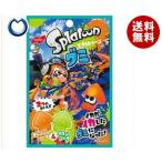 送料無料 【2ケースセット】ノーベル製菓 スプラトゥーングミ オレンジソーダ&メロンソーダ 45g×6袋入×(2ケース)