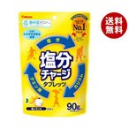 送料無料 【2ケースセット】カバヤ 塩分チャージタブレッツ塩レモン 90g×6袋入×(2ケース)