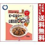 【送料無料】ホリカフーズ ピーエルシー 山菜五目ビビンパ 100g×12個入