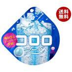 送料無料 【2ケースセット】UHA味覚糖 コロロ ソーダ 40g×6袋入×(2ケース)