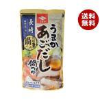 送料無料 【2ケースセット】ニビシ醤油 うまかあごだし鍋つゆ 720mlパウチ×10袋入×(2ケース)