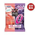 送料無料 オリヒロ ぷるんと蒟蒻ゼリーカロリーゼロ 白桃+巨峰 18gパウチ×12個×12袋入