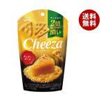 【送料無料】グリコ 生チーズのチーザ チェダーチーズ 40g×10個入