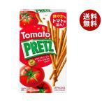 送料無料 【2ケースセット】グリコ PRETZ(プリッツ)熟トマト 60g×10個入×(2ケース)
