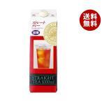 ショッピング紅茶 【送料無料】ジーエスフード GS ストレートティー 加糖 1000ml紙パック×12(6×2)本入